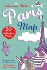 Adventure Walks Paris Map, the