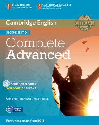 Cambridge English Complete Advanced Student's Book without answers 2nd edition