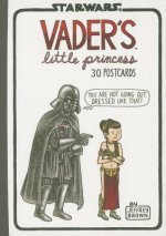 Vader's Little Princess Postcards