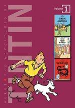 Adventures of Tintin 3 Complete Adventures in 1 Volume