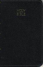 KJV, Vest Pocket New Testament and   Psalms, Leathersoft, Black, Red Letter