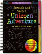 Unicorn Adventure Scratch & Sketch