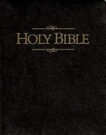 Bible Kjv Keystone Giant Print Blk Die Cut