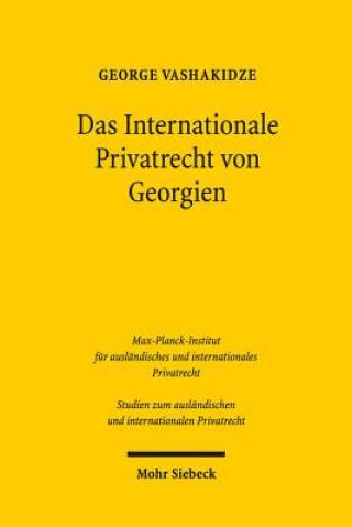Das Internationale Privatrecht von Georgien