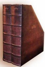 Apollón II - staroanglický dvojitý stojan na časopisy a prospekty