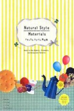 Natural Style Materials: Ready-to-Use Objects, Ornaments, and Background Patterns