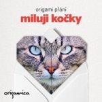 Origami přání - Miluji kočky