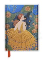 Flame Tree Notebook (Erte Winter Flowers)