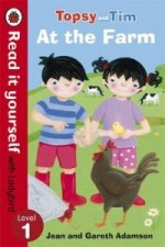 Topsy and Tim: At the Farm - Read it yourself with Ladybird