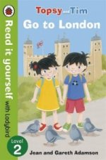 Topsy and Tim: Go to London - Read it Yourself with Ladybird