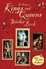 Kings and Queens Sticker Book