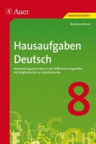 Hausaufgaben Deutsch Klasse 8