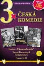 3x DVD - Česká komedie 1.