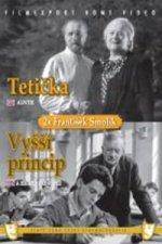 Tetička/Vyšší princip (2 filmy na 1 disku) - DVD box