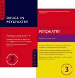 Oxford Handbook of Psychiatry 3e and Drugs in Psychiatry 2e