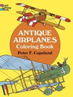 Antique Airplanes Coloring Book