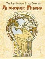 Art Nouveau Style Book of Alphonse Mucha