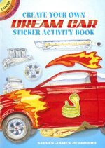 Create Your Own Dream Car Sticker Activity Book
