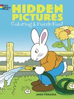 Hidden Pictures Coloring and Puzzle Fun