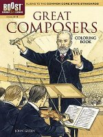 BOOST Great Composers Coloring Book