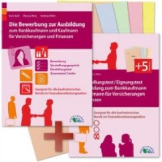 Die Bewerbung und der Eignungstest / Einstellungstest zur Ausbildung zum Bankkaufmann und Kaufmann für Versicherungen und Finanzen, 2 Bde.