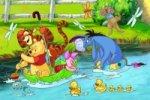 Medvídek Pú - puzzle 66 dílků
