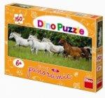 Běžící koně - puzzle Panoramic 150 dílků