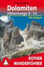 Rother Wanderführer Dolomiten-Höhenwege 8-10