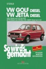 VW Golf 9/76-8/83, Jetta 8/80-1/84, Caddy ab 11/82 (Diesel)