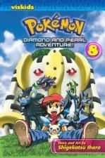 Pokemon Diamond and Pearl Adventure!, Vol. 8