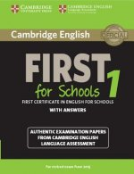 Cambridge English First 1 for Schools for Revised Exam from