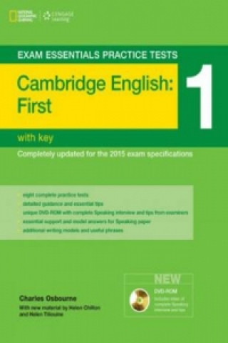 Exam Essentials: Cambridge First Practice Tests 1 w/key + DV