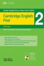 Exam Essentials: Cambridge First Practice Tests 2 w/key + DV