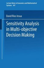 Sensitivity Analysis in Multi-objective Decision Making, 1