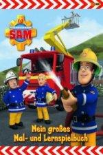 Feuerwehrmann Sam - Mein großes Mal- und Lernspielbuch