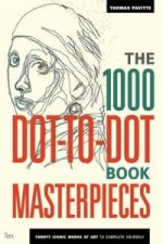 1000 Dot-to-Dot Book: Masterpieces
