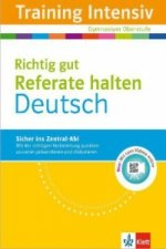 Training Intensiv Deutsch, Richtig gut Referate halten