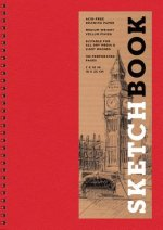 Sketchbook (Basic Medium Spiral Red)