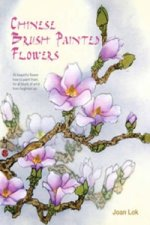 Chinese Brush Painted Flowers
