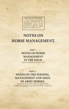 Notes on Horse Management