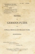Notes on German Fuzes and Typical French and Belgian Fuzes