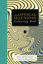Optical Illusions Colouring Book