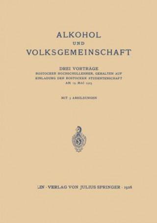 Alkohol Und Volksgemeinschaft