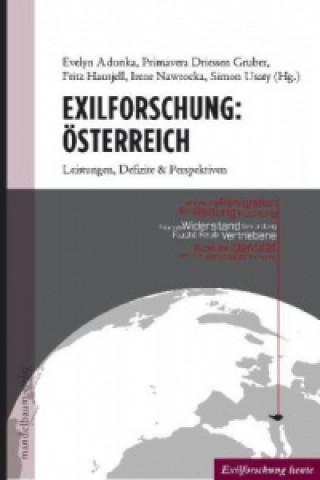 Exilforschung: Österreich