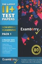 11+ Test Papers - Non-Verbal Reasoning Pack 1