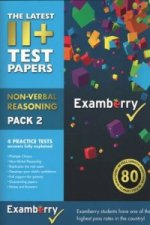 11+ Test Papers - Non-Verbal Reasoning Pack 2