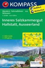 KOMPASS Wanderkarte Inneres Salzkammergut - Hallstatt - Ausseerland