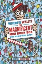 Where's Wally? The Magnificent Mini Book Box - 5 Books & Mag