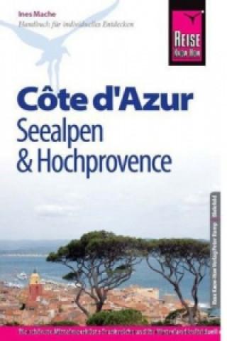Reise Know-How Côte d Azur, Seealpen und Hochprovence