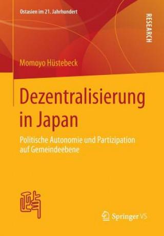 Dezentralisierung in Japan